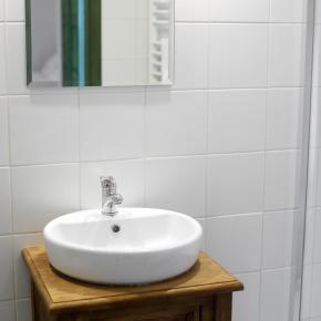 Łazienka w eko-agroturystycznym pensjonacie
