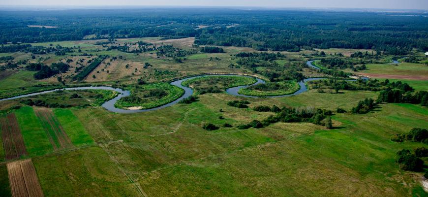 Krajobraz gminu Kluczewsko
